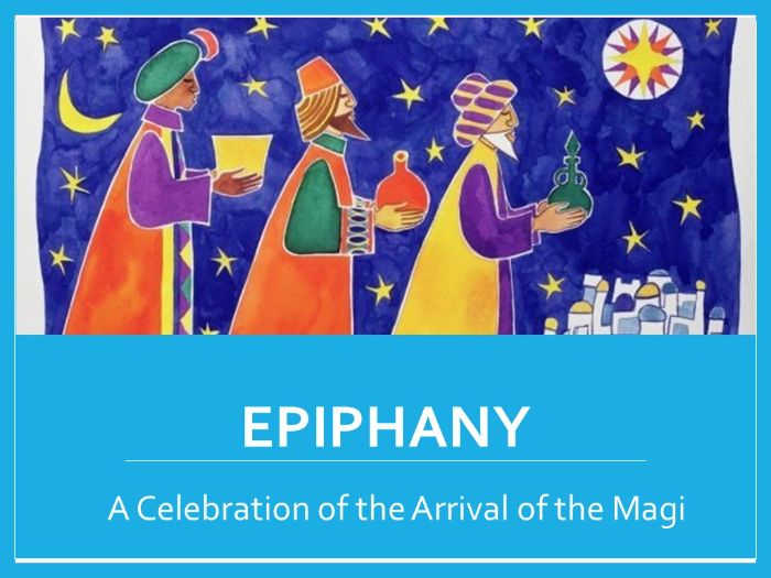 Epiphany / Three Kings Day Lesson with  PPT and Activities