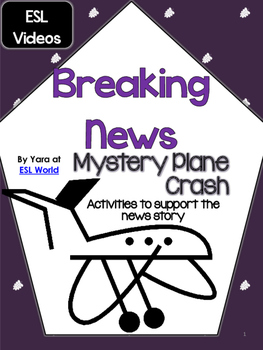 Listening Comprehension News Story Mystery Plane Crash