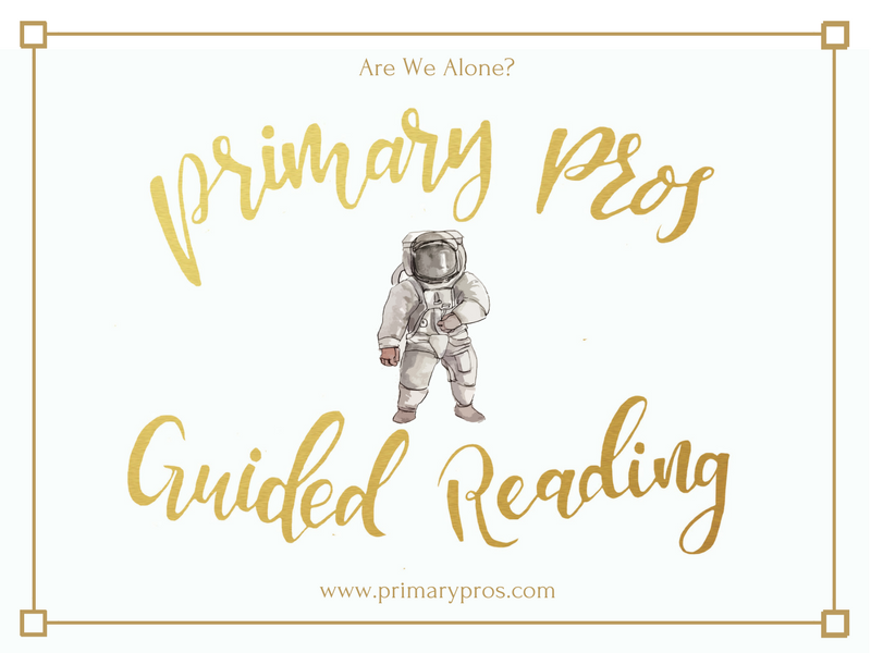 Year 3 & 4 Guided Reading Text - Are We Alone?