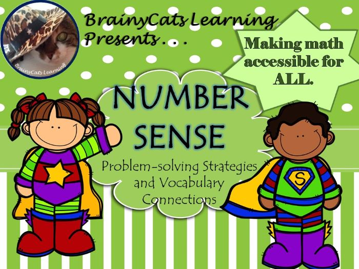 Number Sense:  Problem-Solving and Vocabulary Connections