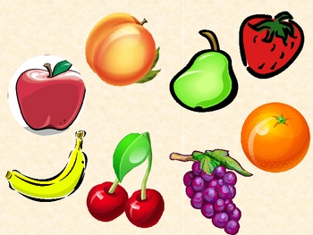 Frutas y Verduras (Fruits & vegetables in Spanish) power point