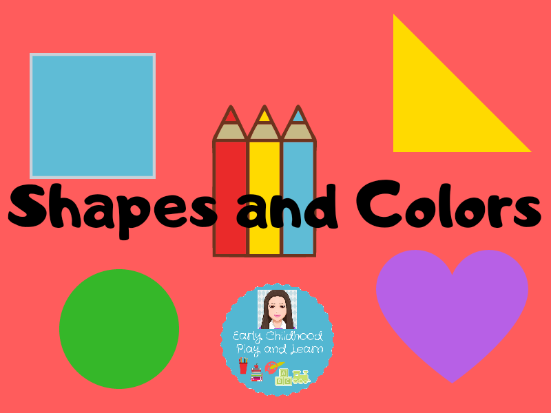 Shapes and Colors Bundle