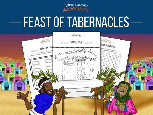 Feast of Tabernacles (Sukkot) Activity Book