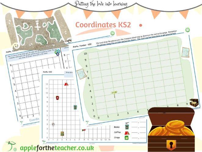 Coordinates activities KS2