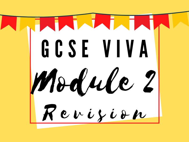 Module 2: Mi Vida en Mi Insti - School Knowledge and Revision Organiser GCSE