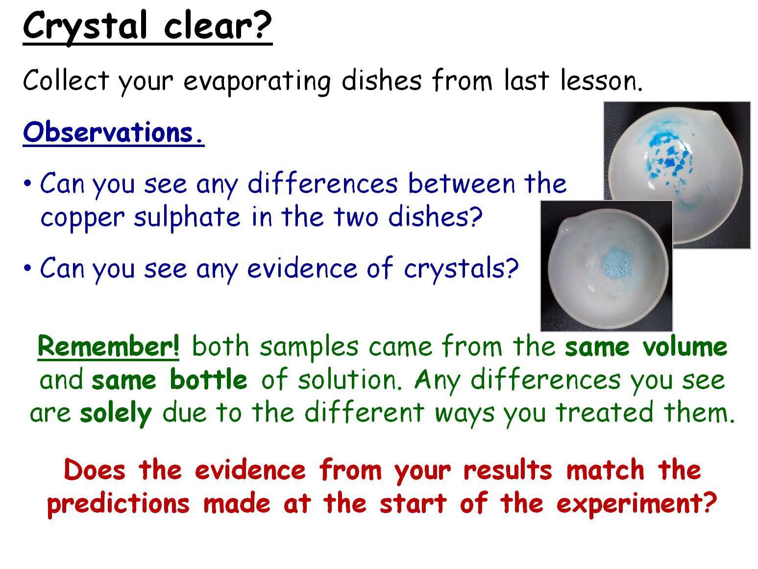 Investigating Crystallisation Year 9 Lesson Powerpoint Ks3 9ea