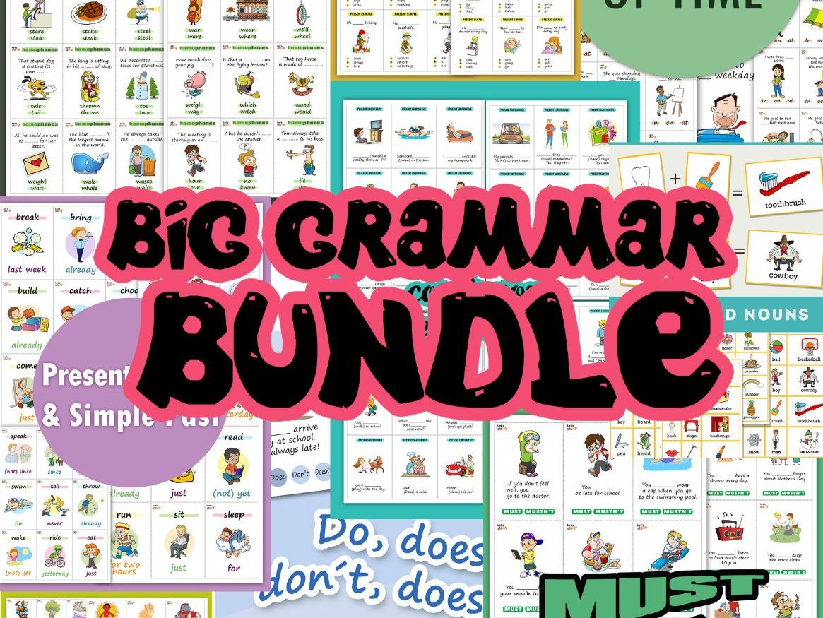 BIG GRAMMAR BUNDLE