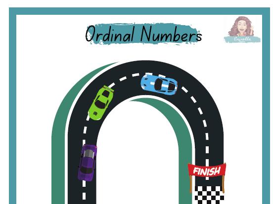 More ordinal numbers