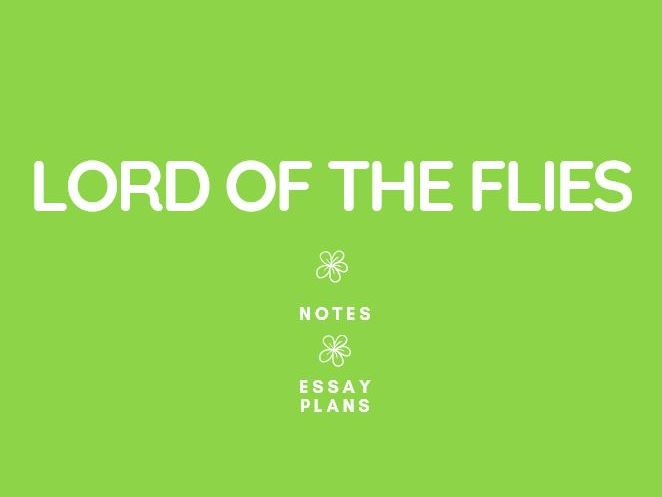 GCSE English Literature: Lord of the Flies Notes and Essays