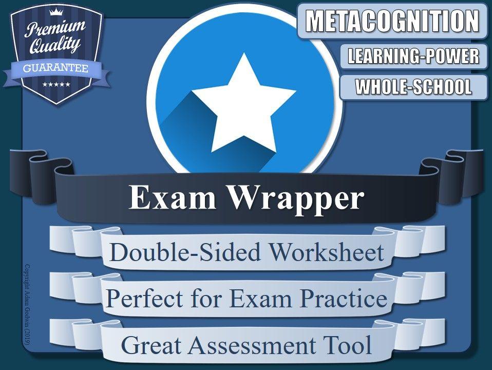 Exam Wrapper (Assessment Tool) 4/5