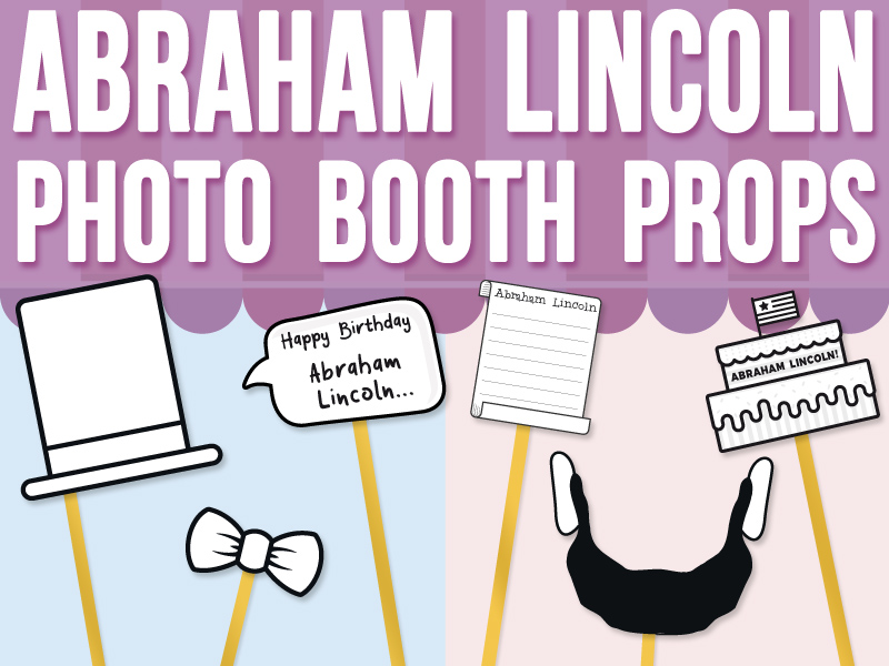 Abraham Lincoln Photo Booth Prop