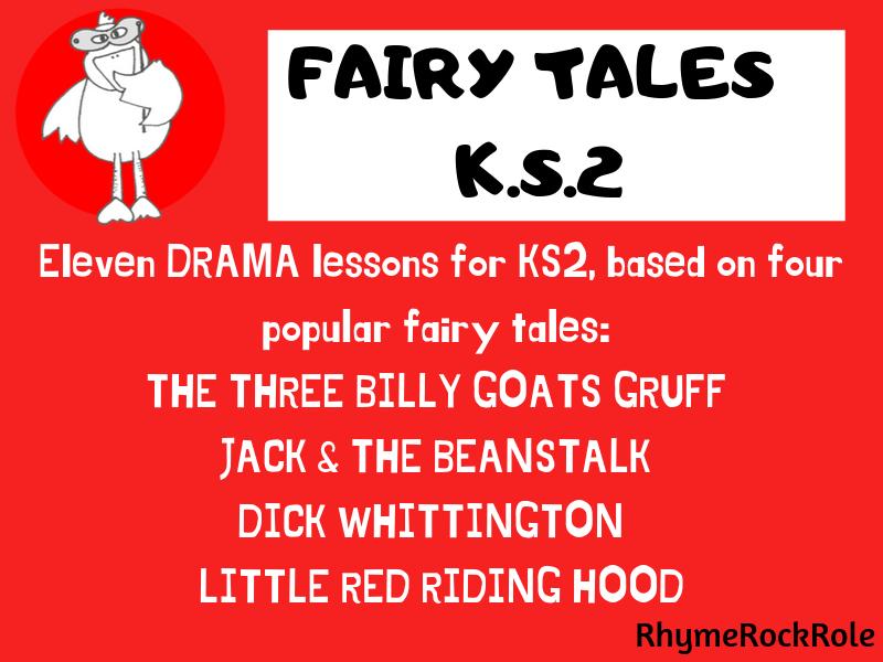 Fairy Tales Drama Unit - Y3/4