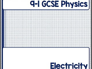 9-1 GCSE Physics Revision Guide (Electricity) with Answers