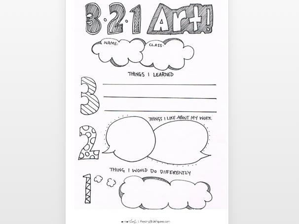 Self Assessment  '321 Art' | Primary Art