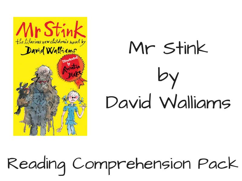 Mr Stink - Reading Comprehension