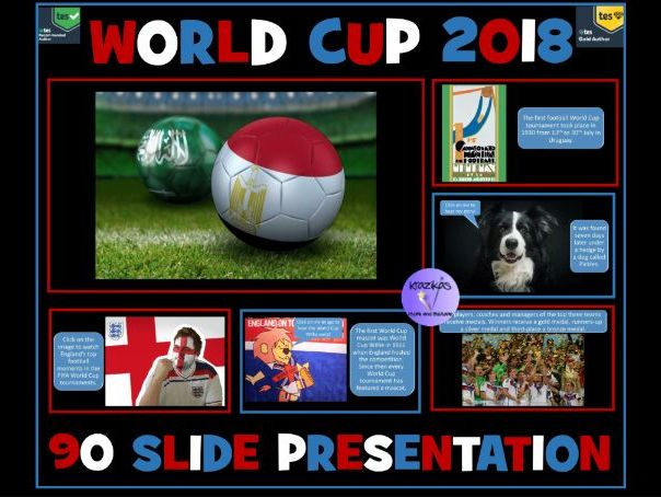 Football World Cup 2018 - 90 Slide Presentation