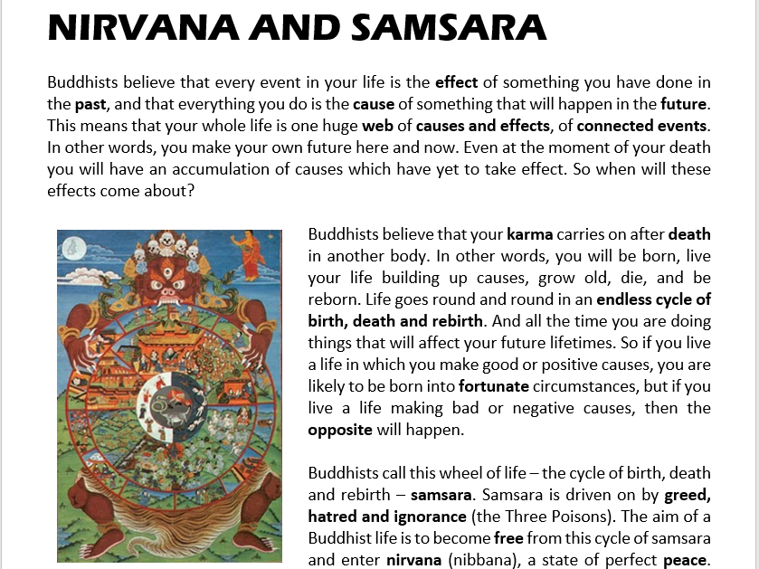 """worksheet buddhism and basic buddhist teachings essay Those wishing to join the monastic order renounced family and worldly ties, and  proclaimed their faith in the """"three jewels"""": the buddha, the doctrine (dharma),."""
