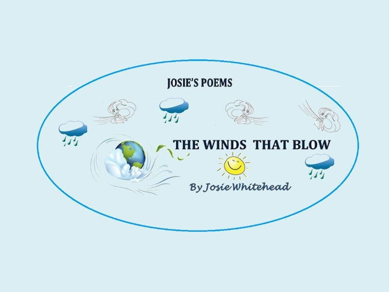 The Winds That Blow - Poem about the winds that visit Britain - by author - Josie Whitehead