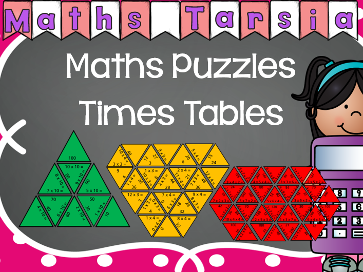 Maths Puzzles: Times Tables