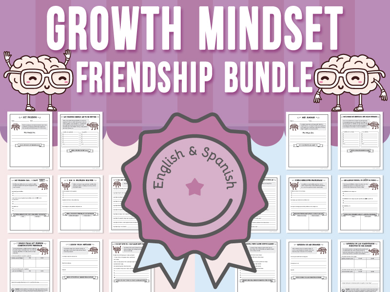 Growth Mindset - Friendship BUNDLE