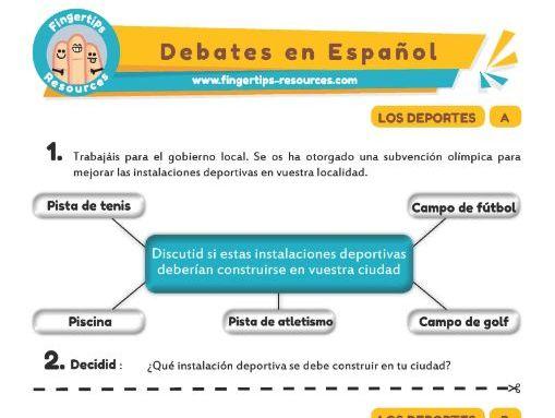 Deporte - Debates in Spanish