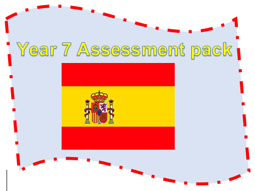 Year 7 Spanish assessment with answers - family