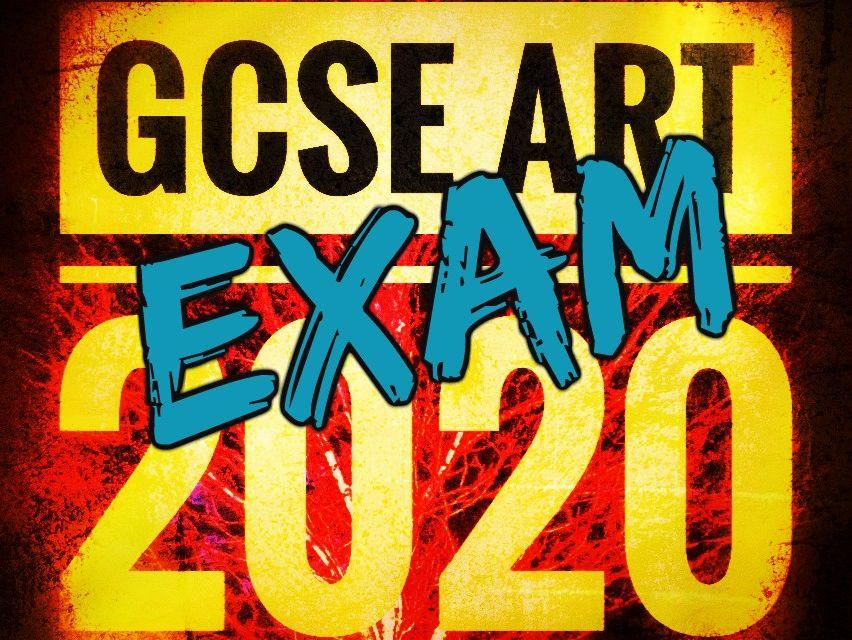 GCSE Art AQA Exam Component 2 2020