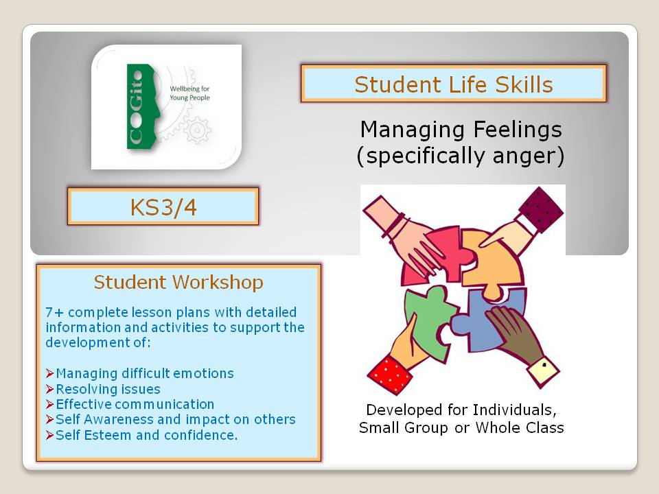 Managing Feelings - specifically anger