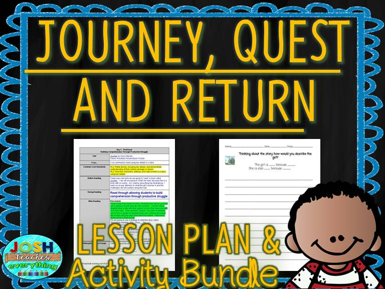 Journey, Quest, and Return by Aaron Becker Lesson Plans & Activities
