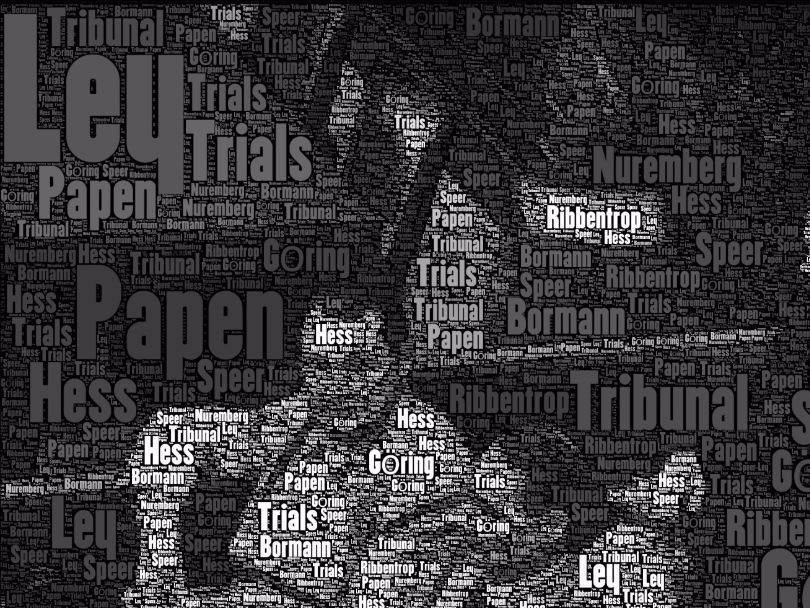 Nuremberg Trials - Visual Activities - Photo & Word Clouds