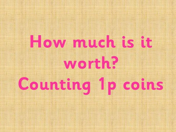 Money - How many 1p coins?