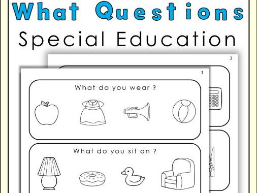 What Questions For Special Education