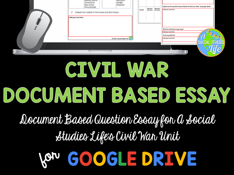 Civil War DBQ Essay