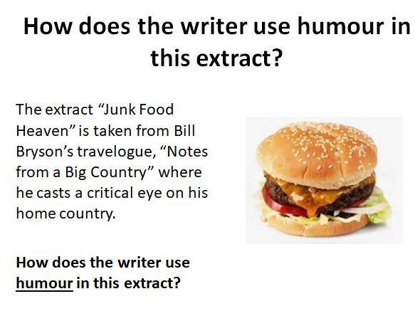 Using Humour: Bill Bryson
