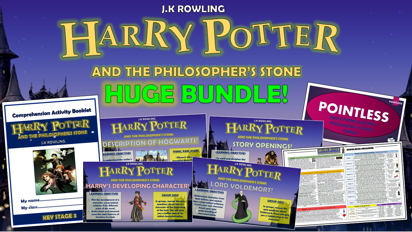 Harry Potter and the Philosopher's Stone Huge Bundle!