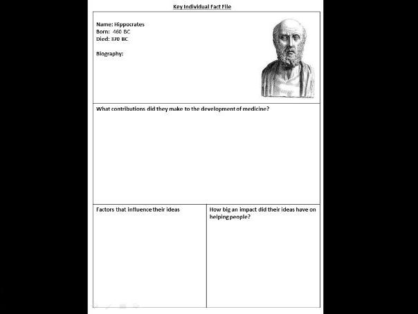 Britain: Health and the People / Medicine Through Time Revision Workbook