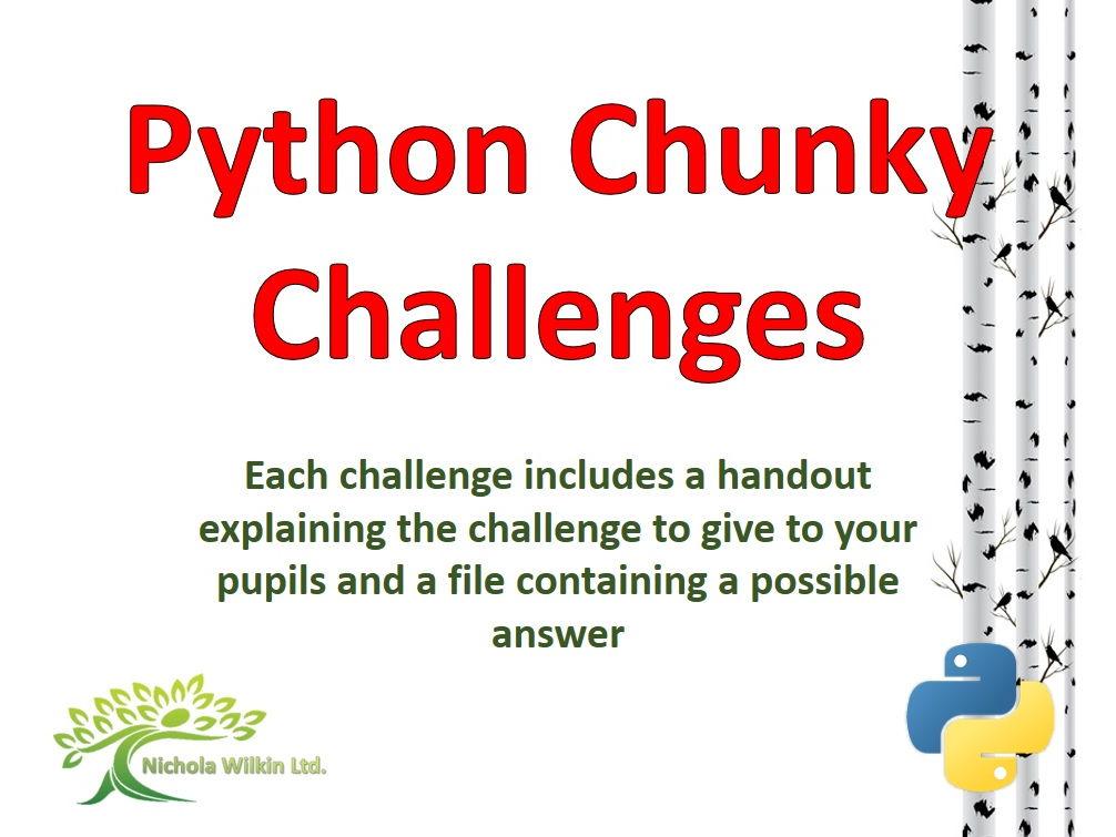 Python Chunky Challenges Bundle