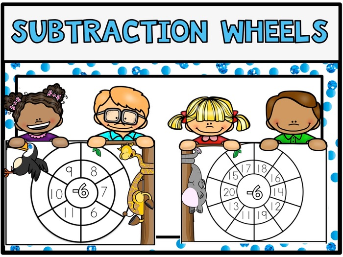 Subtraction Wheels