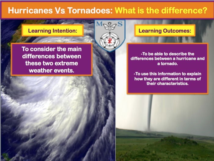 Extreme Weather: Hurricanes Vs Tornadoes