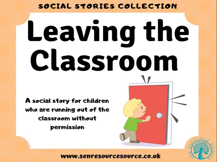 Leaving the Classroom Social Story