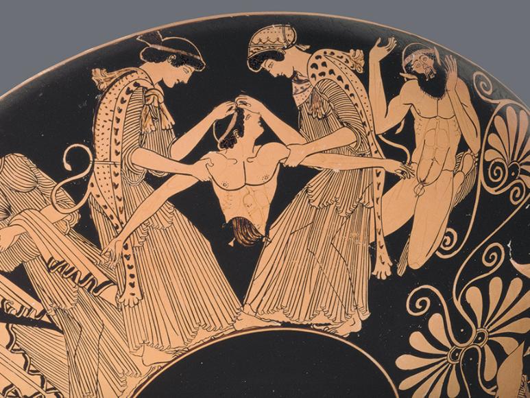 AS DRAMA SCHEME - GREEK TRAGEDY:  The Bacchae