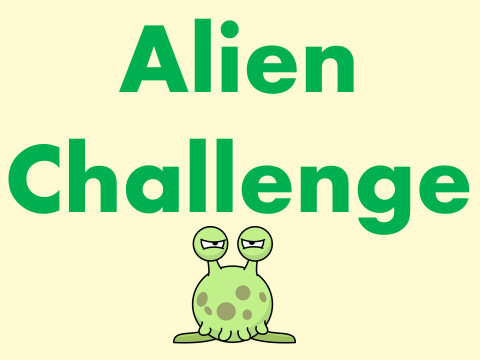Phonic Screening Check Revision / Preparation – Alien Day Pack / Pseudo / Resource/ Activity