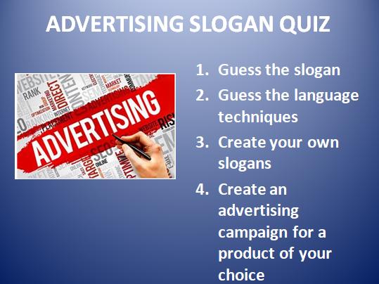 Advertising Slogan Quiz