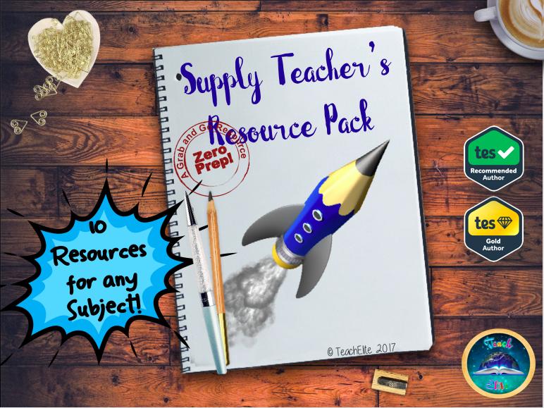 Supply Teacher's Resource Pack