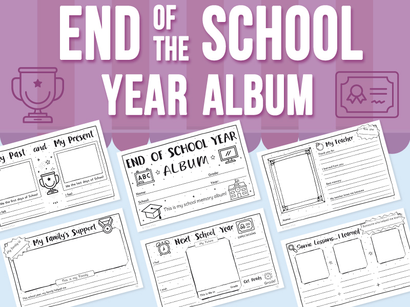 End of the School Year - Album
