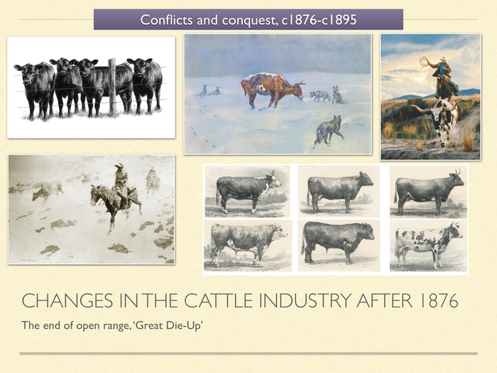 american west cattle industry revision American west practice revision questions explain consequences (8-mark question: 4 marks for each explained consequence) explain two consequences of the indian removal act, 1830.