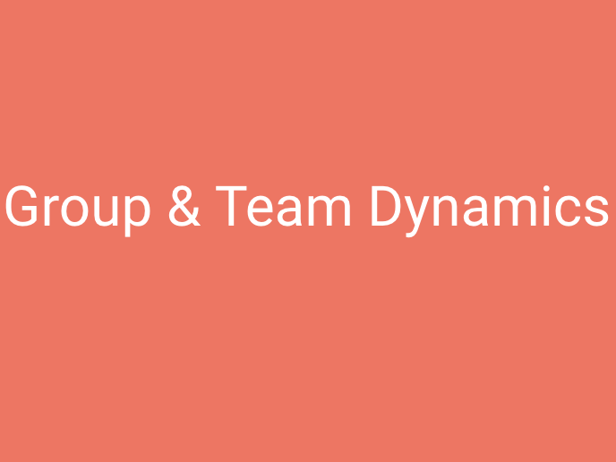 A-Level PE (OCR): Group & Team Dynamics PowerPoint