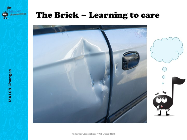The Brick: Going Too Fast to Care - An assembly for Primary schools