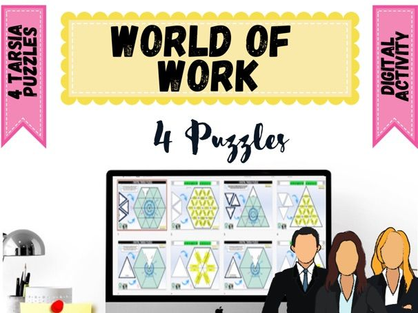 World of Work Digital Puzzles