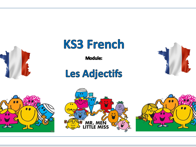 Les Monsieurs-Madames (The Mr Man and Little Miss Project